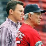 Red Sox general manger Ben Cherington, left, may be mulling changes to manager Bobby Valentine's roster.